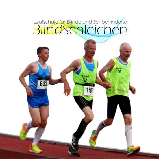 Laufschule für Blinde und Sehbehinderte