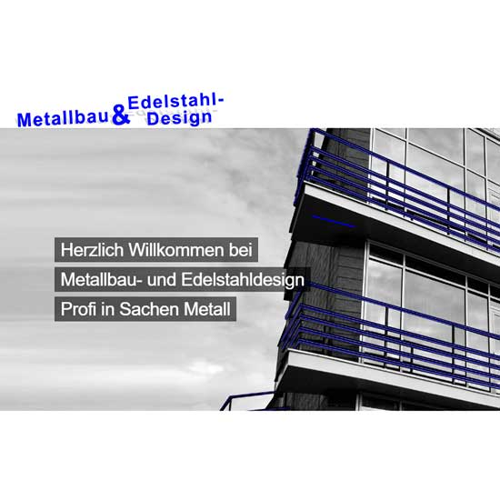 Metallbau & Edelstahl – Design Holger Wiederhold