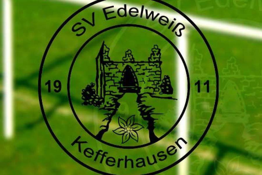 Anstoß für den SV Edelweiß Kefferhausen