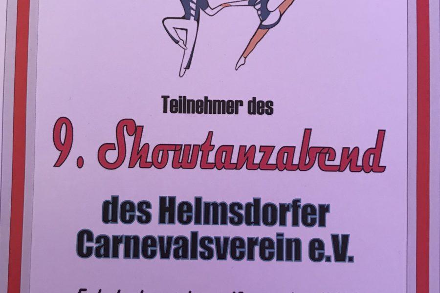 KCV beim Showtanzabend in Helmsdorf
