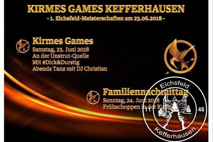 Eichsfelder Kirmesgames 23.06.