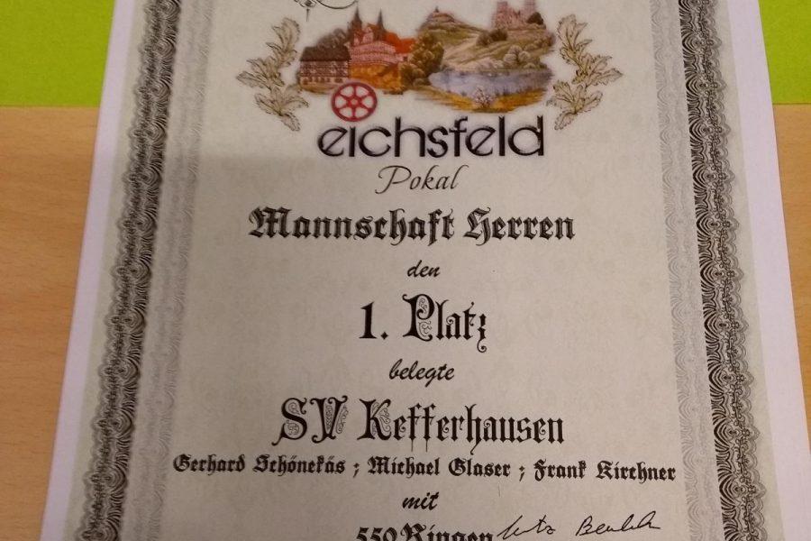 Kefferhausen gewinnt Eichsfeldpokal