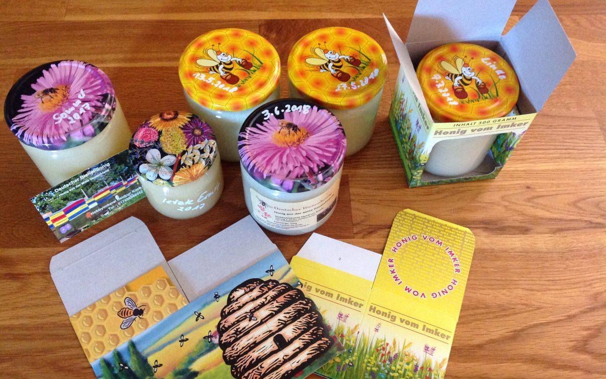 Bienen und Honigproduktion Koch