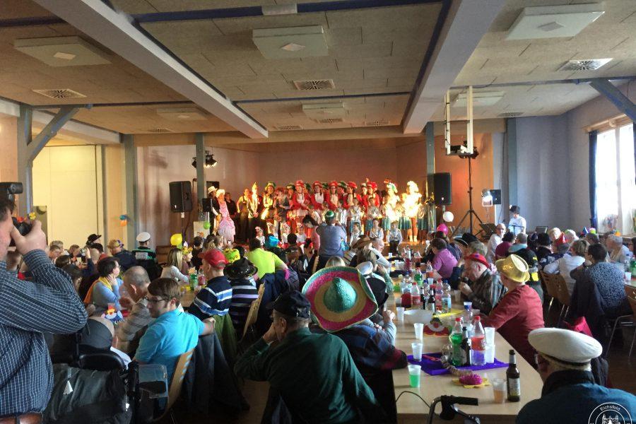Der Kefferhäuser Carnevals Verein begrüßte erneut die Bewohner des St. Johannes Stift in Ershausen