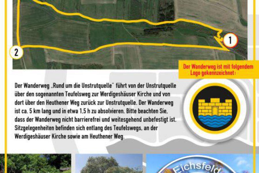 """Eröffnung Wanderweg """"Rund um die Unstrutquelle"""""""