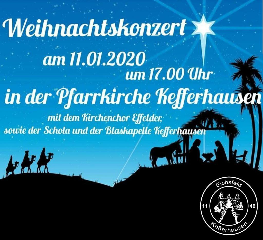 Weihnachtskonzert Kefferhausen 2020